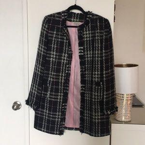 Jackets & Blazers - Tweed pea coat